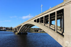 Royal Tweed Bridge, Berwick-upon-Tweed Stock Photo