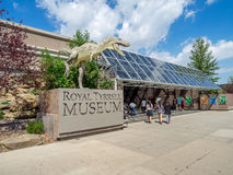 Royal Tyrrell Museum Stock Photography