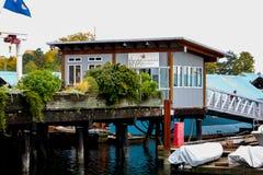 Royal Vancouver Boathouse, Vancouver, BC. Stock Photos