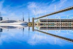 Royal Victoria Bridge in London Stock Image