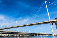 Royal Victoria Bridge in London Stock Images