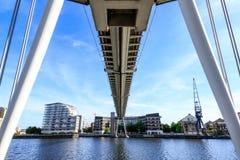 Royal Victoria Bridge in London Royalty Free Stock Photo
