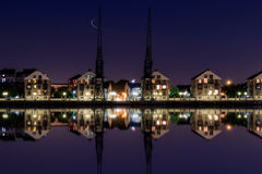 Free Royal Victoria Dock At Twilight Stock Image - 77427261