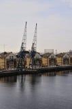 Royal Victoria Dock, London Stock Image