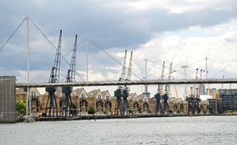 Royal victoria docks london Royalty Free Stock Image