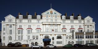 The Royal Victoria Hotel, St Leonards, East Sussex, England stock photo