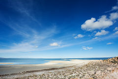 Royal view of Great Salt Lake on Antelope Island Stock Photography