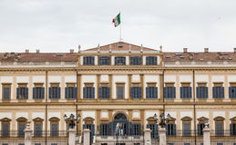 Royal villa in the city of monza. Lombardy. Royalty Free Stock Image