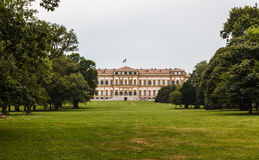 Royal villa in the city of monza. Lombardy. Ital Royalty Free Stock Images