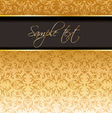 Royal vintage cover Royalty Free Stock Image