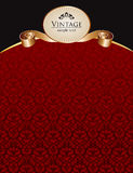 Royal vintage cover Royalty Free Stock Photo