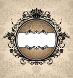 Royal vintage frame Royalty Free Stock Photo
