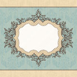 Royal vintage frame Royalty Free Stock Image