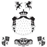 Royal vintage frame Royalty Free Stock Image