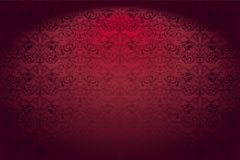 Free Royal, Vintage, Gothic Horizontal Background In Red Stock Image - 118504391