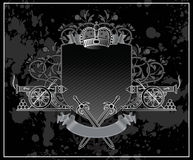 Royal vintage vector illustration Royalty Free Stock Images