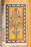 Royal Wall Paintings. On Nahargarh Fort Royalty Free Stock Photos