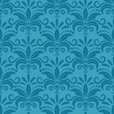 Royal wallpaper with damask seamless floral Royalty Free Stock Photography