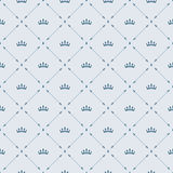 Royal wallpaper seamless pattern with crown and decorative elements. Luxury background Stock Photography