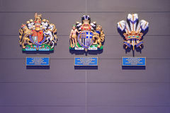 Royal warrant of appointment Jaguar Land Rover Limited Royalty Free Stock Photo