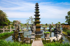 Royal water palace in Tirthagangga, Bali Royalty Free Stock Photography