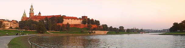 Royal Wawel Castle Royalty Free Stock Image