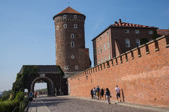 Royal Wawel Castle and Cathedral In Krakow Poland Stock Photos