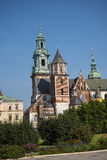 Royal Wawel Castle and Cathedral In Krakow Poland Royalty Free Stock Photo