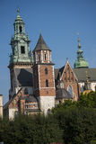 Royal Wawel Castle and Cathedral In Krakow Poland Royalty Free Stock Image