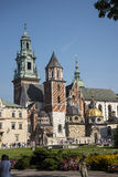 Royal Wawel Castle and Cathedral In Krakow Poland Stock Photo