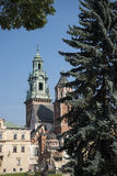 Royal Wawel Castle and Cathedral In Krakow Poland Stock Photography