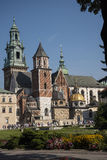 Royal Wawel Castle and Cathedral In Krakow Poland Royalty Free Stock Photography