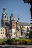 Royal Wawel Castle and Cathedral In Krakow Poland Royalty Free Stock Photos