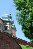 Royal Wawel Castle in Cracow Stock Images