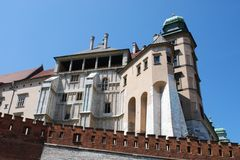 Royal Wawel Castle, Cracow Stock Photography