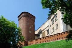 Royal Wawel Castle, Cracow Royalty Free Stock Photography