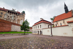 Royal Wawel Castle in Cracow Stock Photography