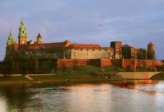 Royal Wawel Castle in Krakow Royalty Free Stock Image