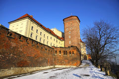 Royal Wawel Castle in Krakow, Poland Royalty Free Stock Images