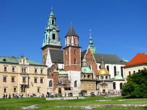 Royal Wawel Castle in Krakow - Poland Stock Images