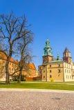 Royal Wawel Castle, Krakow, Poland Royalty Free Stock Photos