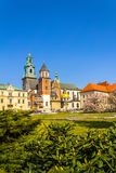 Royal Wawel Castle, Krakow, Poland Stock Image