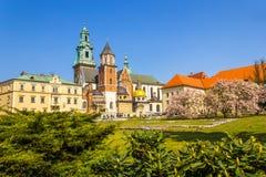 Royal Wawel Castle, Krakow, Poland Royalty Free Stock Image