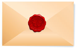 Royal Wax Seal Royalty Free Stock Photography