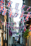 Royal Wedding 2011 Buntings Royalty Free Stock Photography