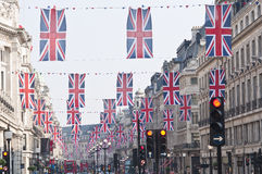 Royal Wedding 2011 Buntings Royalty Free Stock Images