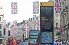 Royal Wedding 2011 Buntings Stock Image