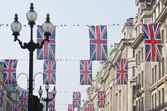 Royal Wedding 2011 Buntings Royalty Free Stock Photo