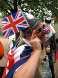 Royal Wedding fan stock photos