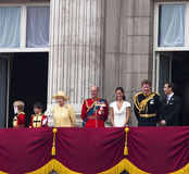 The Royal Wedding in London Royalty Free Stock Photography